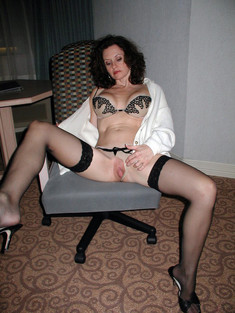 Nude shaved pussies of wives in..