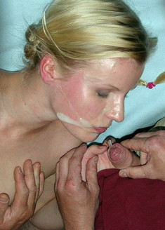 Guys cumming on faces and in mouths of..