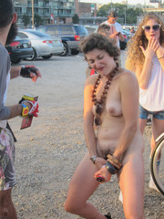 Naked Women In Party